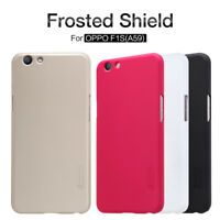 Nillkin Frosted Shield Matte Case Hard Cover + Protector For OPPO F1S (A59)