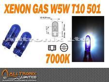 XENON GAS T10 W5W SIDE LIGHT BULBS 501 T10 7000K UK SELLER