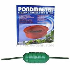 PONDMASTER FLOATING POND DE ICER AND CORD CONNECT