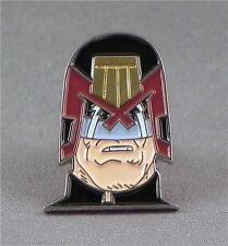 Judge Dredd pin badge. 2000 AD. Comic book hero