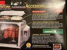 Ronco Showtime Rotisserie & Bbq Deluxe Accessory Package New-Open Box #Sta 4