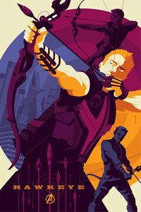 Avengers: Hawkeye Poster Art Print by Mondo Artist Tom Whalen