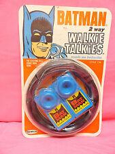 1966 BATMAN WALKIE TALKIES REMCO MINT ON CARD