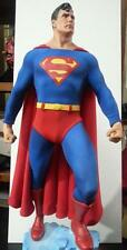 Custom Fabric Cape with Yellow S for the Sideshow Superman Premium Format Figure