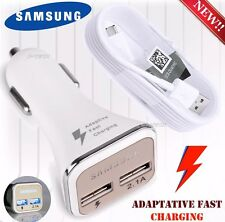 LED Adaptive Fast Dual USB Car Charger USBFor Samsung Galaxy S7 Edge Note 4/5 S6