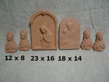 Lotto 6 x Madonna in terracotta
