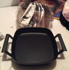 OSTER DELUXE CLEAR LID ELECTRIC SKILLET MODEL 4280, 12 Non-stick Cast Pan