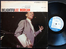 LEE MORGAN Delightfulee LP BLUE NOTE 84243 US '66 JAZZ Wayne Shorter McCoy Tyner
