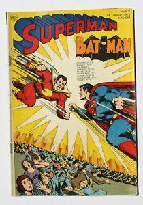 EHAPA / SUPERMAN Heft 2 von 1975 / mit Sammler Gutschein / Top Zustand