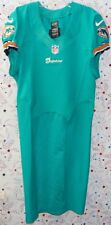 2012 MIAMI DOLPHINS NFL FOOTBALL TEAM GAME ISSUED AQUA LINE JERSEY Size 44