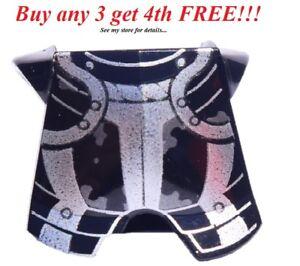 ☀️NEW Lego Black Kingdoms Silver Breastplate Chestplate Armor Castle Knight
