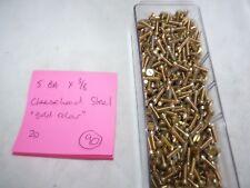 5 BA X 3/8 CHEESEHEAD STEEL - 30 SCREWS  - FREE POST