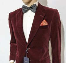 BNWT Gieves & Hawkes Savile Row Velvet Slim Fit Tuxedo Jacket UK 38S RRP £1295