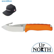Benchmade HUNT 15009-ORG STEEP COUNTRY with HOOK Fixed Blade Knife FREE HAT