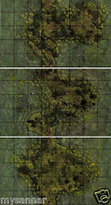 Dungeons & Dragons MARSH ISLANDS Gamemastery D&D Pathfinder Map Tiles - MT10-12