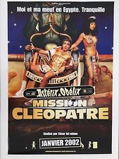ASTERIX & OBELIX, MISSION CLEOPATRE, AUTHENTIC 2002 FRENCH POSTER
