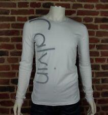 T shirt Calvin Klein homme manche longue CMP27U Blanc