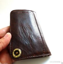 genuine leather case for iphone 5 book wallet cover se 5s s handmade Pocket 5c