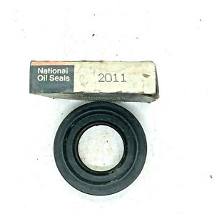 National 2011 Differential Pinion Seal For Nissan Merkur 280Z 280ZX 300ZX XR4TI