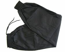 Kung Fu Tai Chi Traditonal Cuffed Ankles Pants/Trouser Black - 5/180cm
