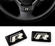 2x r line sticker Volkswagen VW badge rline emblema golf 6 7 jetta Mk 5 6 Polo