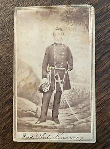Civil War CDV of Union General Philip Kearney - Brady New York