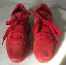 Puma Red Suede Classic Men's Size 6 Sneakers Shoes
