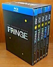 Fringe The Complete Series (Blu Ray, 20-Disc, 2013) Season 1 2 3 4 5 Seasons