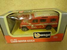 BOXED MODEL CAR BURAGO / 4131 LAND ROVER AZIZA 1/43