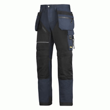 Snickers RuffWork Work Trousers Holster Pockets Size 048 E148