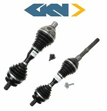 For Volvo XC90 T6 L6 Pair Set of Front Left & Right CV Axle Shaft Assemblies GKN