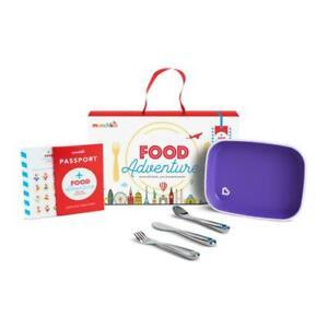 Munchkin Food Adventure Big Kid Childrens Dining Set Purple