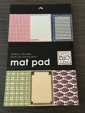 ME & MY BIG IDEAS MAT PAD 32 5 X 7 SHEETS SCRAPBOOKING FAMILY