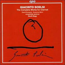 Scelsi: The Complete Works For Clarinet, New Music