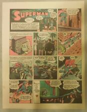 Superman Sunday Page #164 by Siegel & Shuster from 12/20/1942 Half Page:Year #4!