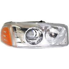 For Sierra 1500 03-07, Passenger Side Headlight, Clear Lens