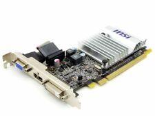 Msi R5450-MD1GD3H / LP Ati Radeon HD 5450 1GB DDR3 VGA HDMI Dvi-D Pcie Graphic