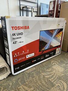 Toshiba 43 Inch 43UL2063DB Smart 4K Ultra HD HDR WiFi LED TV