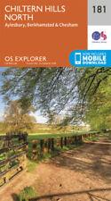 Chiltern Hills North 181 Explorer Map Ordnance Survey With Digital Download