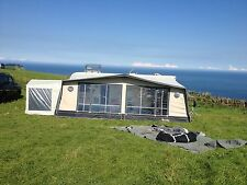 Isabella Moonlight 1075 Awning With Carbon Pole Set & Tall Annexe