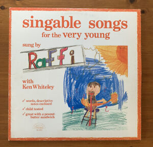 RAFFI-SINGABLE SONGS FOR THE VERY YOUNG,EX-/EX++
