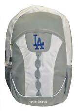 Mlb Los Angeles Dodgers Gray Team Backpack 17.5 inch