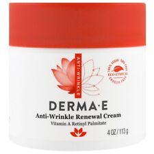 Derma E, Anti-Wrinkle Renewal Cream, 4 oz (113 g) Vitamin A Retinyl Palmitate