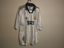 Real Madrid Maglia 1998 2000    Home L SHIRT MAILLOT TRIKOT Vintage
