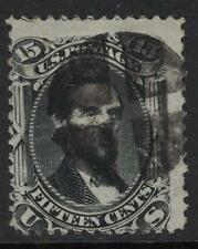 Scott 77- Used- Lincoln, Civil War Issue- 15c 1866- CV $225- Old US Stamp