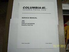 Harley Davidson Gas golf cart Service Repair manual 1981 on disc NICE