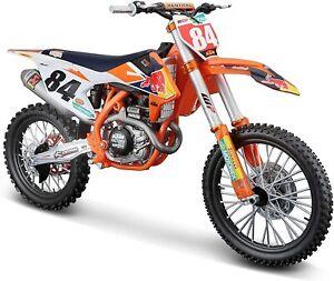 Maisto 532228 KTM Supercross 450 SX-F '18 Jeffrey Herlings Maßstab 1:6 Motorrad