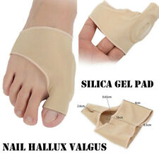 1 Pair Fabric Gel Toe Bunion Pad Protector Hallux Valgus Anti Friction Corrector