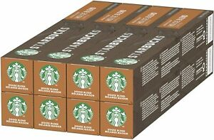 Starbucks House Blend by Nespresso Medium Roast Coffee (Pack of 8, Total 80 Pod)