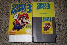 Super Mario Bros 3 (Nintendo Entertainment System NES 1990) Complete GREAT B C